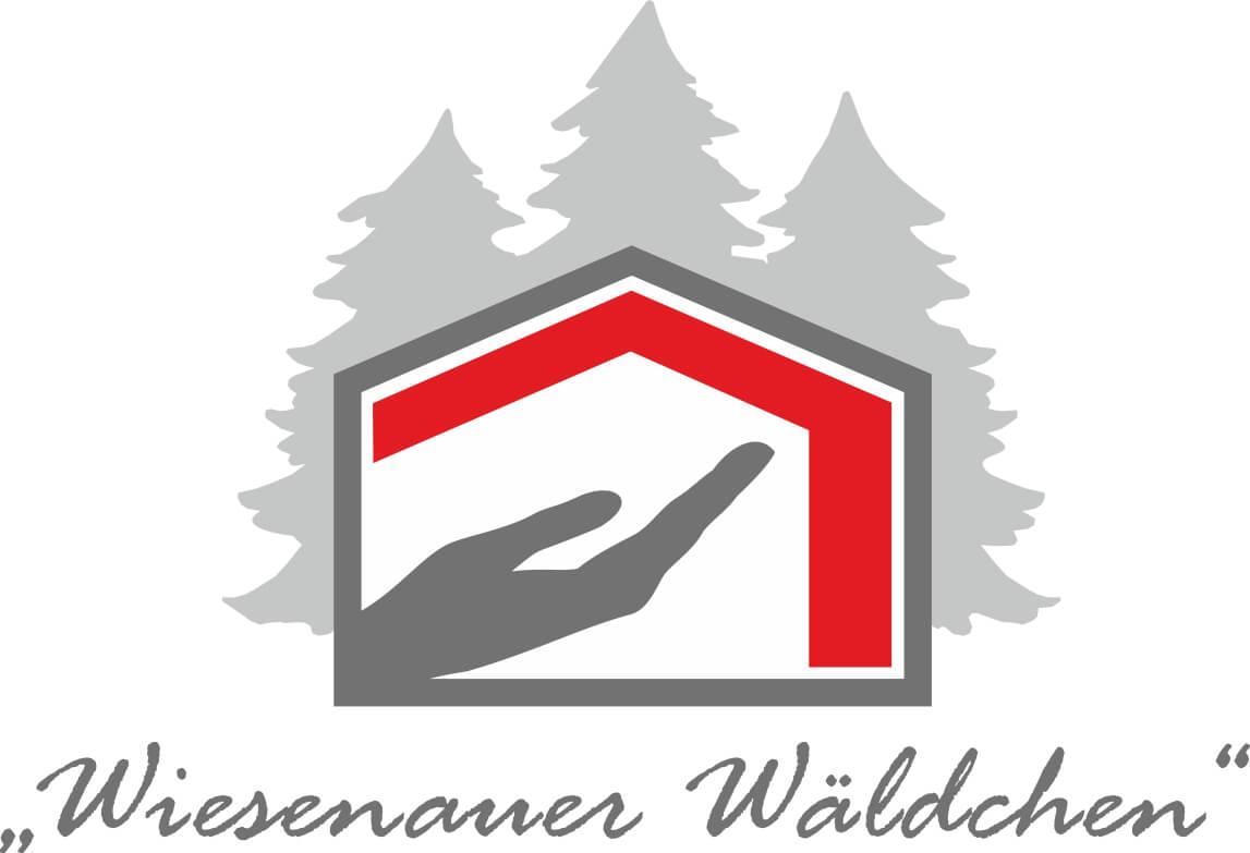 Logo Wiesenauer Wäldchen grau rot - Home